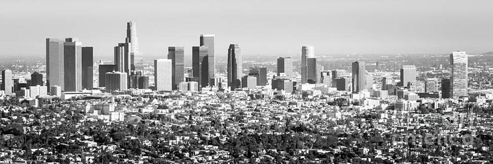 Los Angeles Skyline Panorama Photo by Paul Velgos
