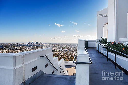 Jo Ann Snover - Los Angeles spread out below Griffith Observatory