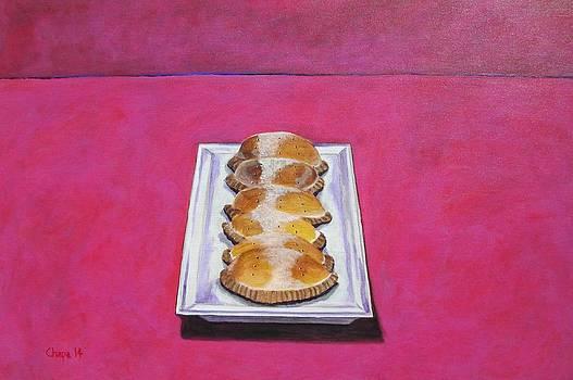 Las empanadas by Manny Chapa