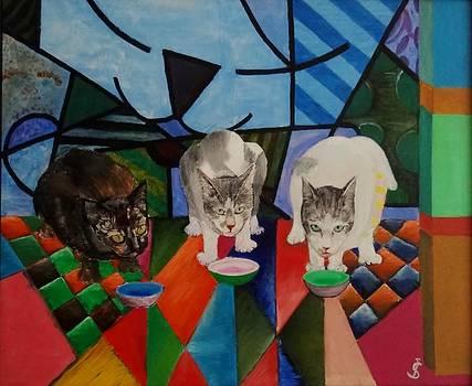 Los gatos by Juan Sandin