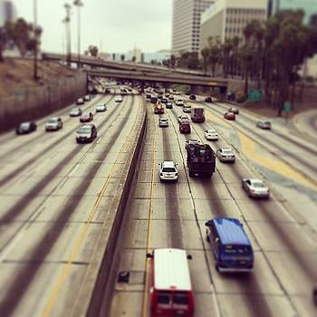 #losangeles #freeways by Ann Marie Donahue