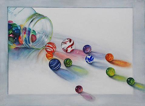 Losing My Marbles by Luane Penarosa