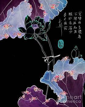 LINDA SMITH - Lotus and Bird
