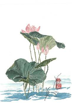 Lotus Blossoms by Terri Harris