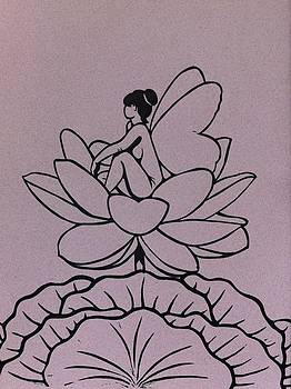 Lotus Fairy by Mary Clare Castor