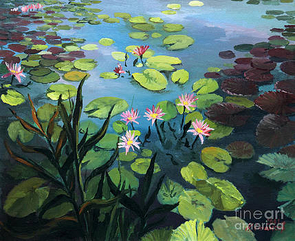 Lotus Flowers  by Kiril Stanchev