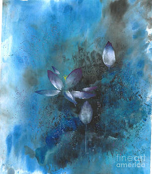 Lotus in the Night by Mui-Joo Wee