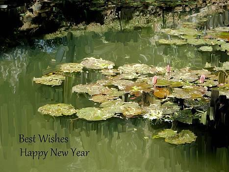 Usha Shantharam - Lotus Pond greetings