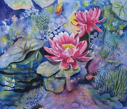 Lotus Pond by Vidyut Singhal