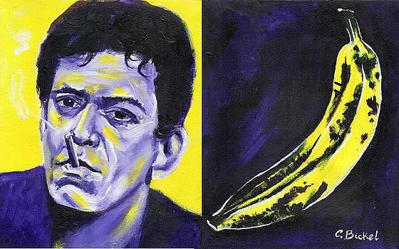 Lou Reed by Charles  Bickel