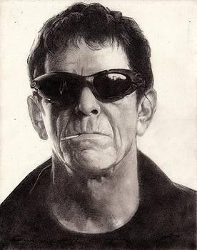 Lou Reed by Glenn Daniels