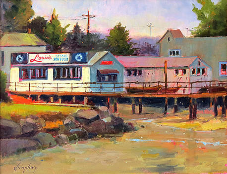 Louie's Port Washington by Lawrence Chrapliwy