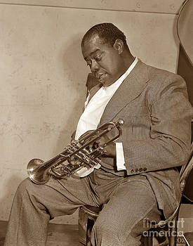 California Views Mr Pat Hathaway Archives - Louis Armstrong  at Monterey Jazz Festival of 1958