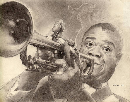 Louis Armstrong by Glenn Daniels