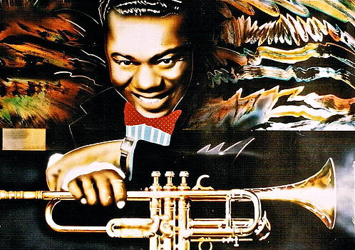 Louis Armstrong by Mireille  Poulin