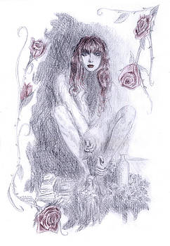 Louise in Roses by Sabina Mollot