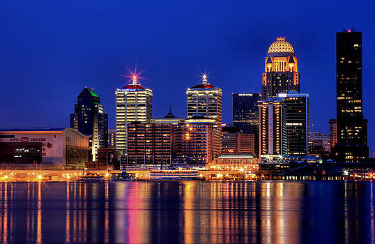 Matthew Winn - Louisville Skyline at Dusk