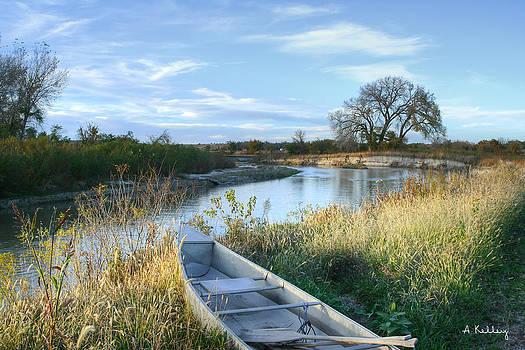 Loup River by Andrea Kelley