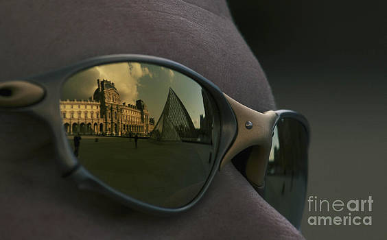 Louvre Reflections by Jeff Sommerfield
