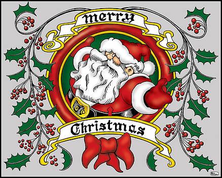 Lovable Santa by Bill Proctor