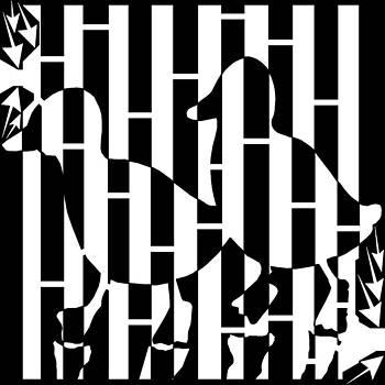 Love Bird Ducks Maze  by Yonatan Frimer Maze Artist