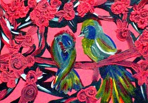 Love Birds by Lynette  Swart