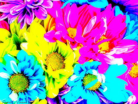 Love brings out the brightest in flowers  by Regina  Vasquez