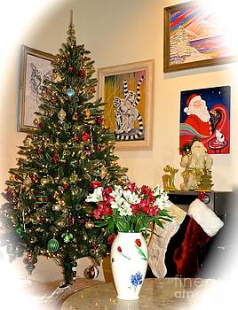 Love in Our Hearts and Santa in the Corner by Phyllis Kaltenbach