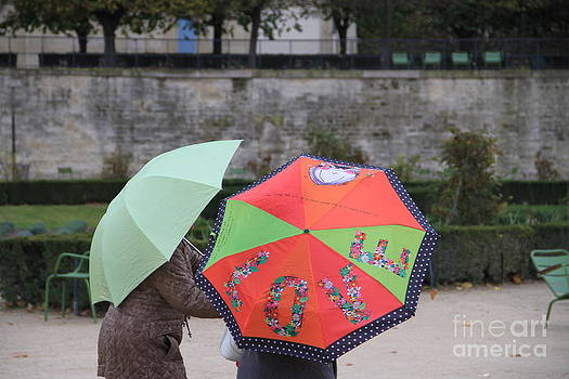 Love in the Tuileries Garden by Julia Willard
