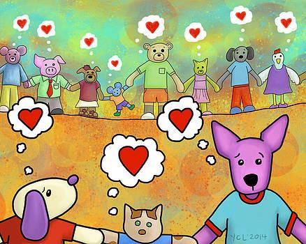 Love is Community by Yvonne Lozano