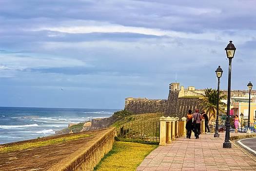 Sandra Pena de Ortiz - Love Is In The Air At Old San Juan