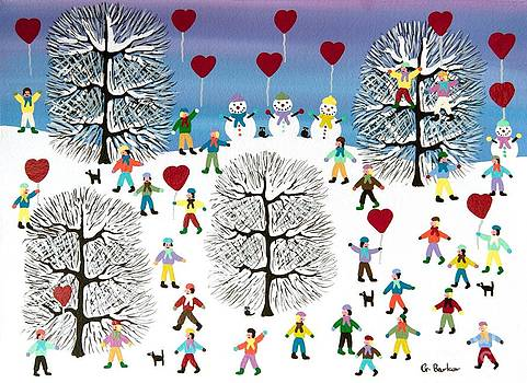 Love is in the air by Gordon  Barker