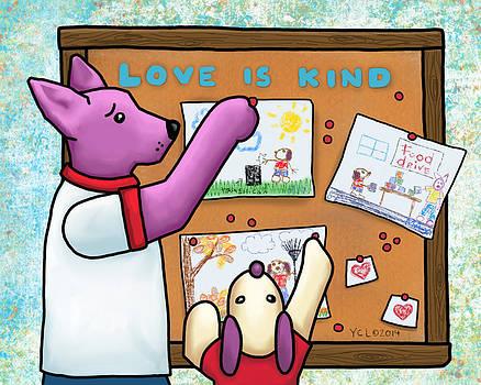 Love is Kind by Yvonne Lozano
