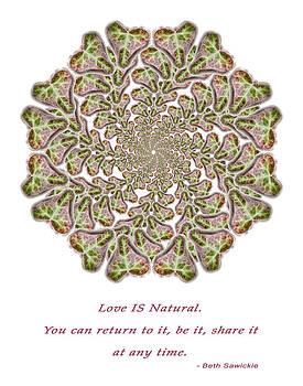 Love is Natural by Beth Sawickie