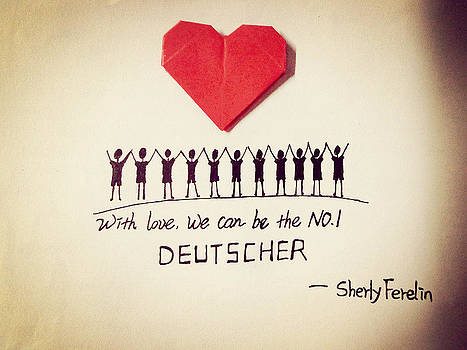 Love Make Us Stronger  by Sherly Ferelin