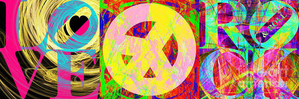 Love Peace and Rock and Roll Return To The Summer of Love 20140605 by Wingsdomain Art and Photography