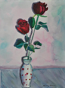Love Roses by Mickey Krause