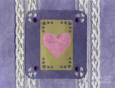 Ellen Miffitt - Love Series Collage - Heart 7