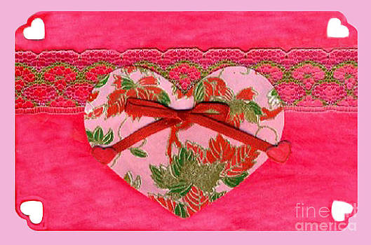 Ellen Miffitt - Love Series Collage - Heart 8
