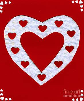 Ellen Miffitt - Love Series Collage - Heart 1a