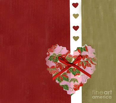 Ellen Miffitt - Love Series Collage - Heart #9