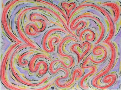 Love Swirls by Cathy Bishop