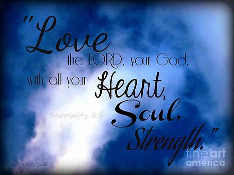 Sharon Tate Soberon - Love the Lord your God