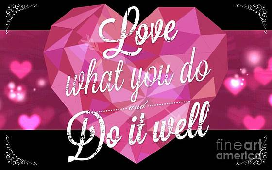 Love What You Do l by Daryl Macintyre