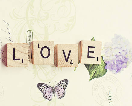 Love by Whimsy Canvas