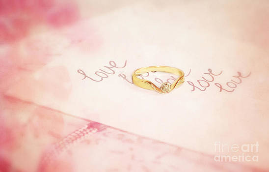 LHJB Photography - Love written with a golden ring