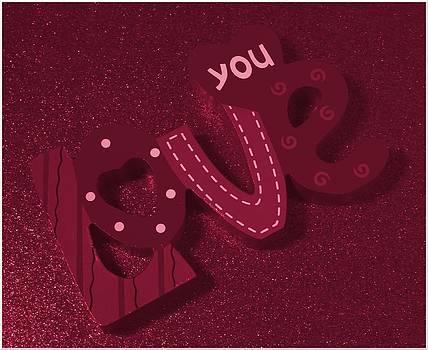 Love You by April Wietrecki Green