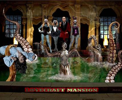 Lovecraft Mansion by Jack Joya