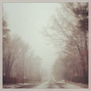 Lovely Morning Drive #snow #winter by A Loving