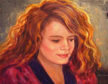 Lovely Redhead by Holly LaDue Ulrich